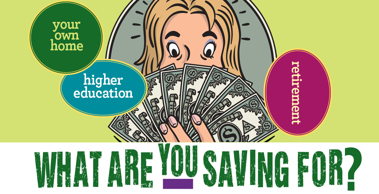 What Are You Saving For? Graphic