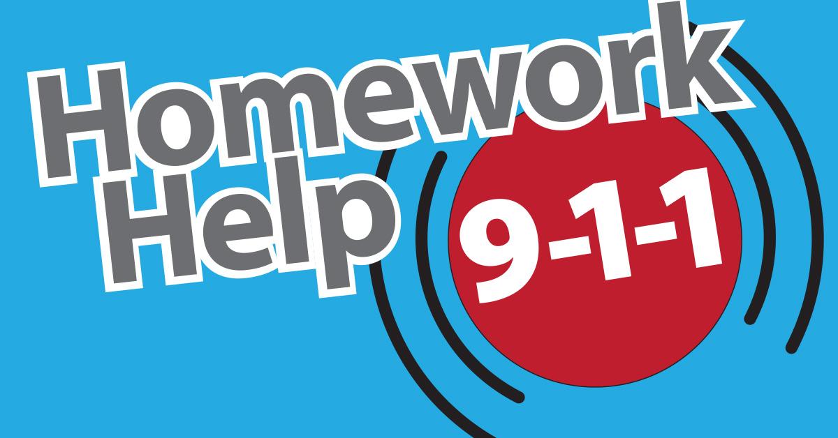 Homework 9-1-1 Logo