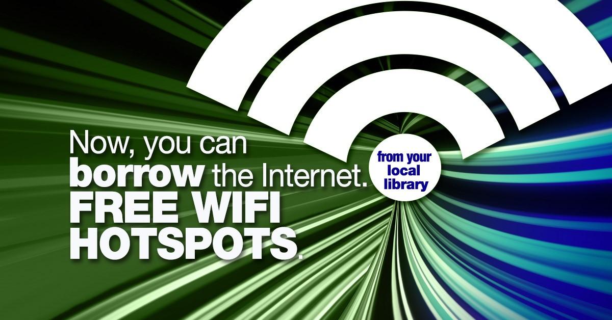 Wi-Fi Hot Spots Graphic