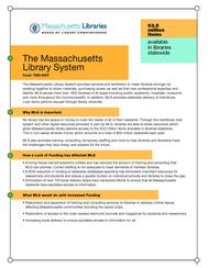 Fact Sheet-Massachusetts Library System