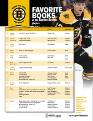 2020 Bruins Reading List